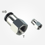 Conector PCF cu filet interior